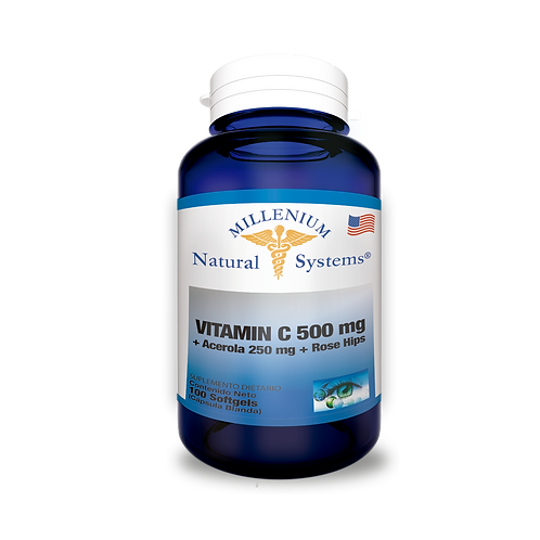 Vitamina C 500 mg + Acerola