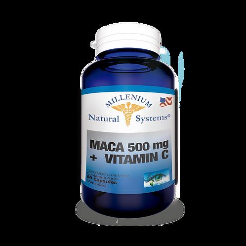 Maca 500 mg + Vitamina C