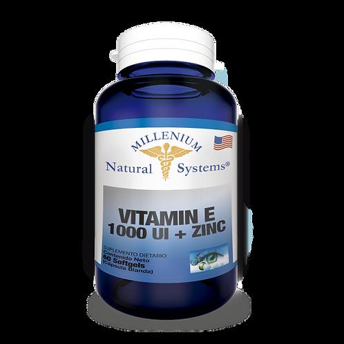 Vitamina E x 1000 UI - 60 Cap