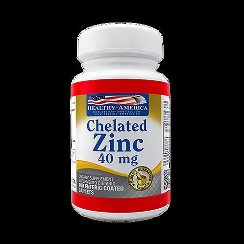 Chelated Zinc 40 mg