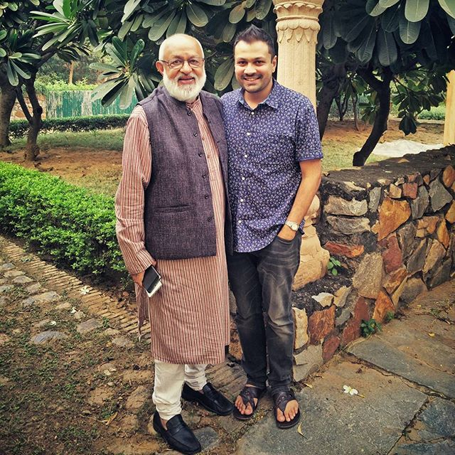 With Shri. Pushpesh Pant