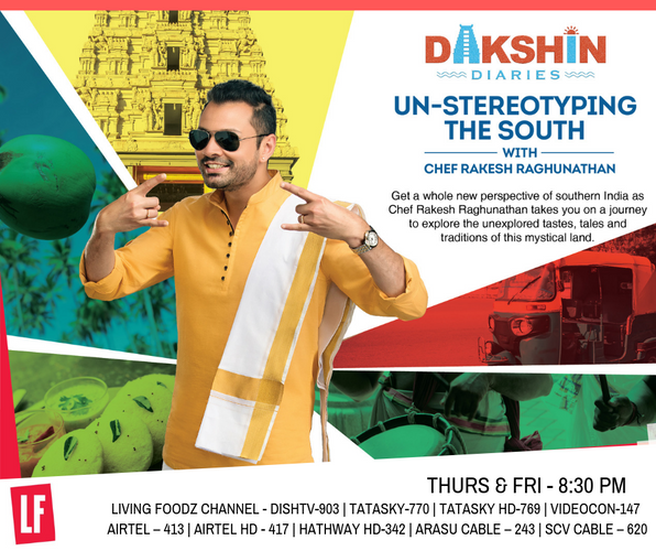 Dakshin Diaries -Living Foodz