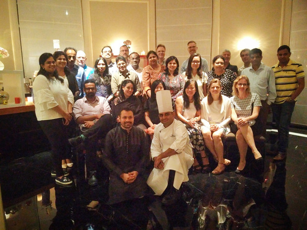 Symrise Dinner for world renowned Perfumers