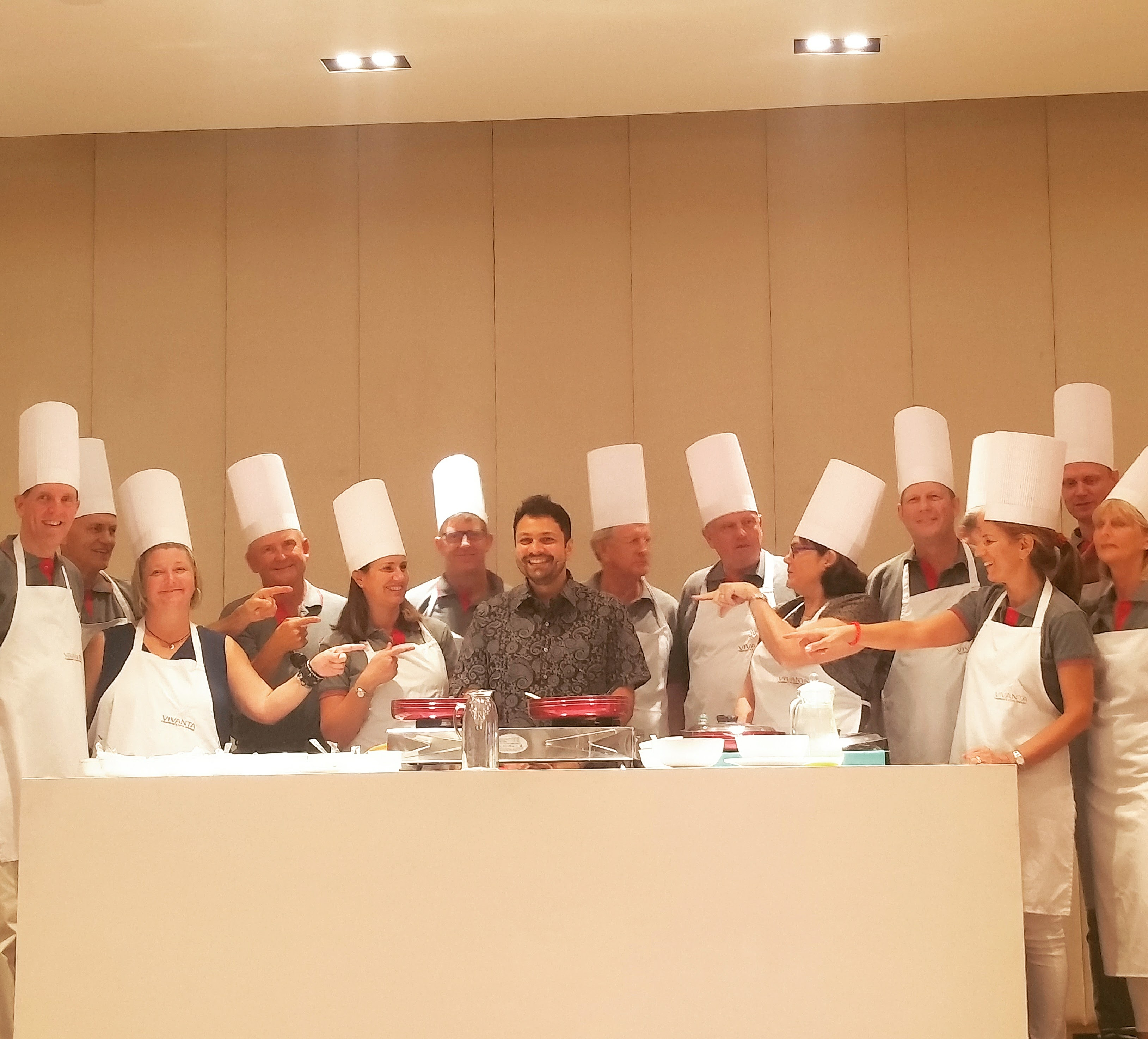 Team Building Cookery Workshop