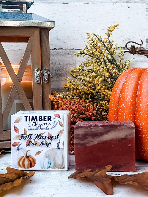 Fall Harvest Bar Soap