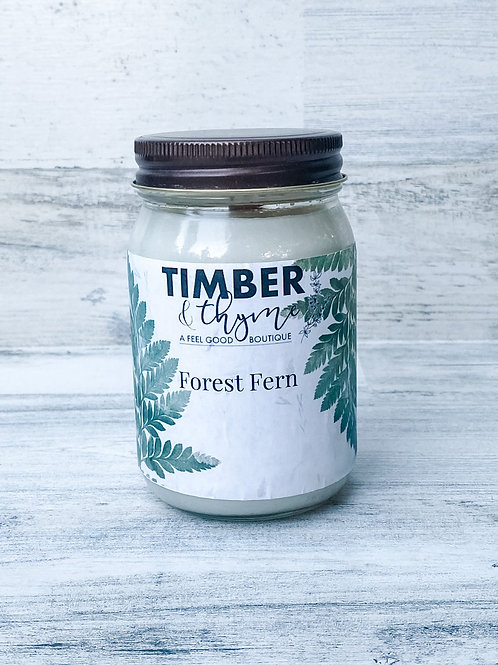 Forest Fern - Handcrafted Candle