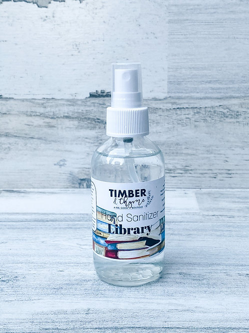 Library Hand Sanitizer