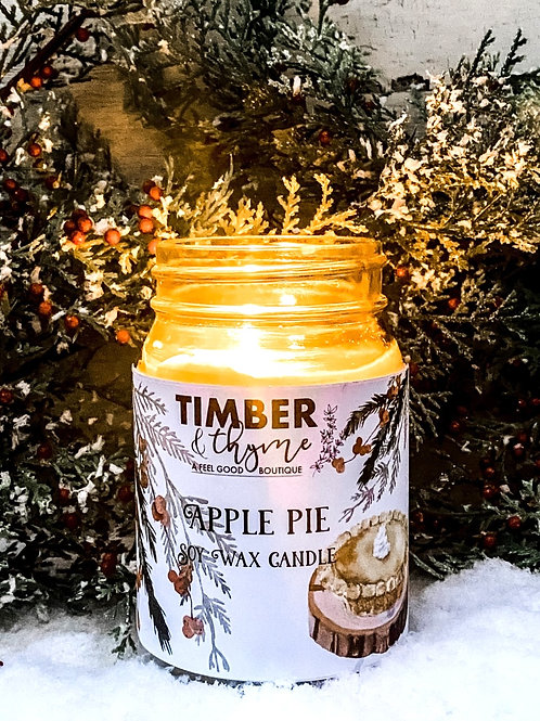 Apple Pie - 100% Soy Wax Candle