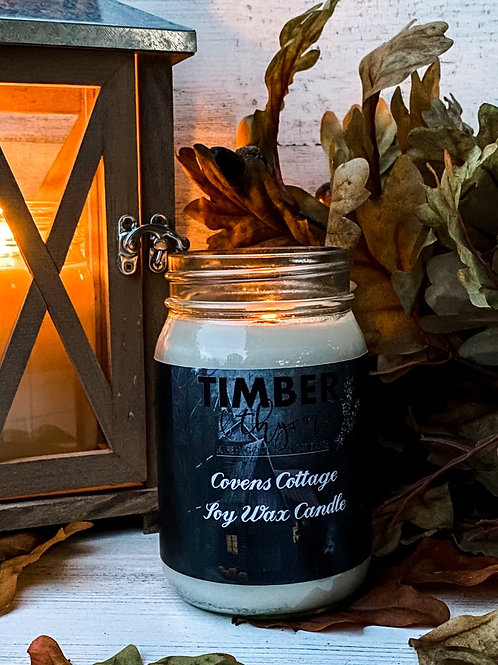 Covens Cottage 100% Soy Candle