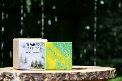 Misty Mountains Bar Soap