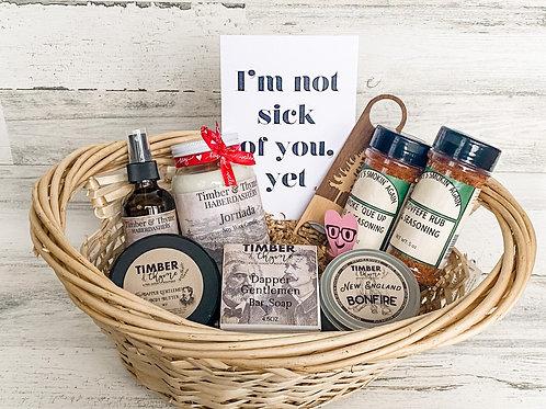 Valentines Day Gift Basket - Option 2
