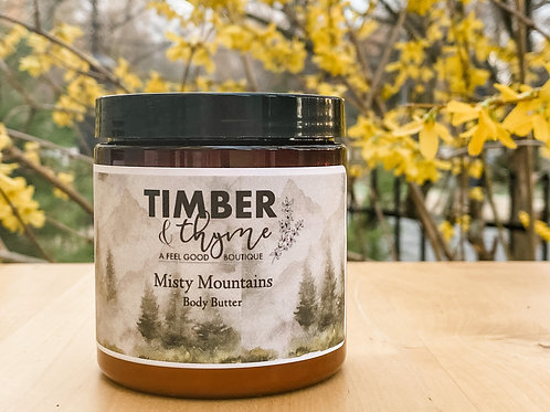 Misty Mountains Body Butter