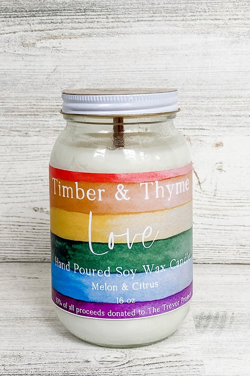 Love Candle - Pride Month Exclusive