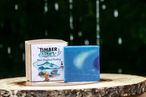 New England Harbor Bar Soap
