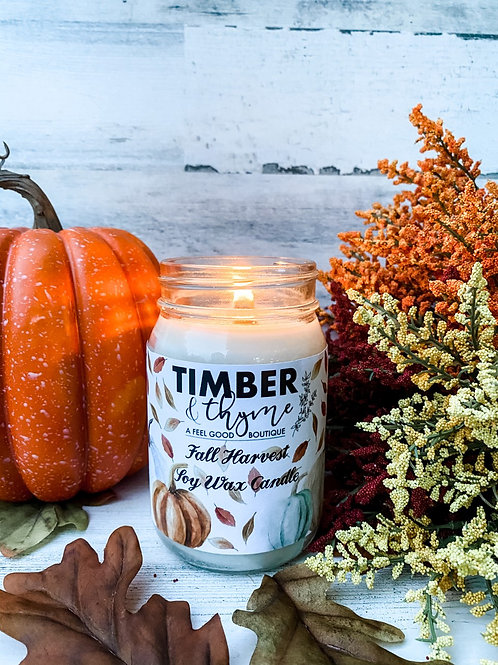 Fall Harvest - 100% Soy Candle