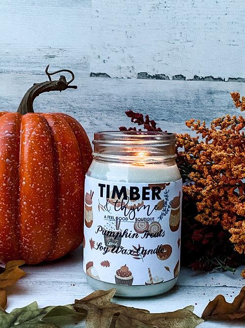 Pumpkin Treats 100% Soy Candle