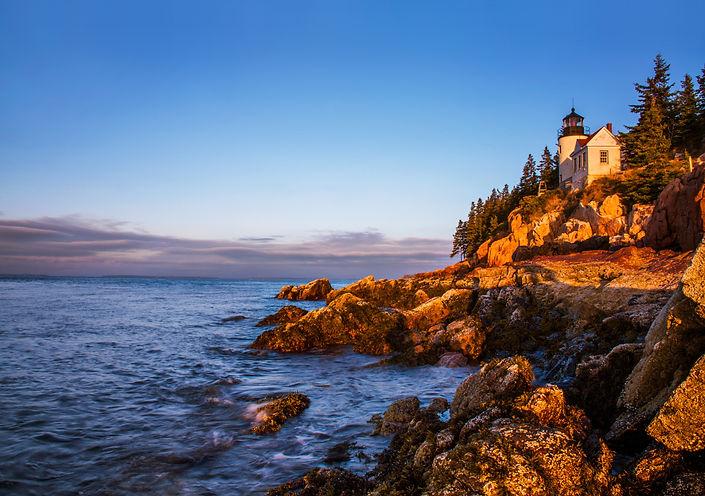 A Classic New England Lighthouse, The Ba