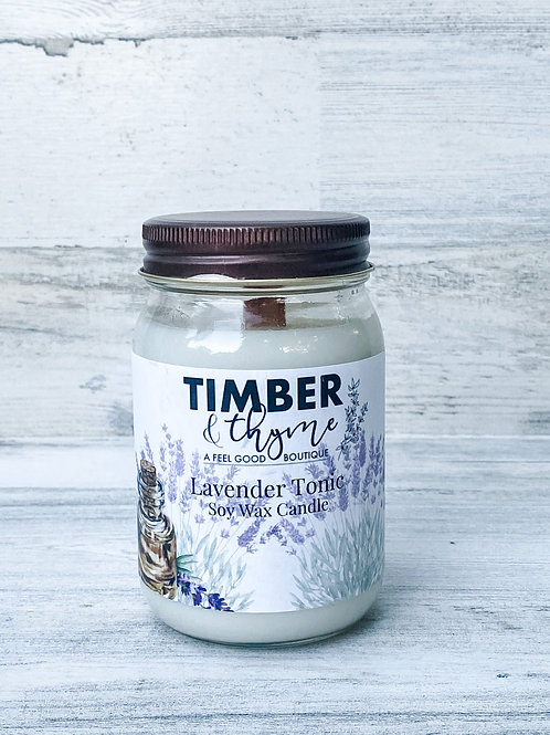 Lavender Tonic - Handcrafted Candle