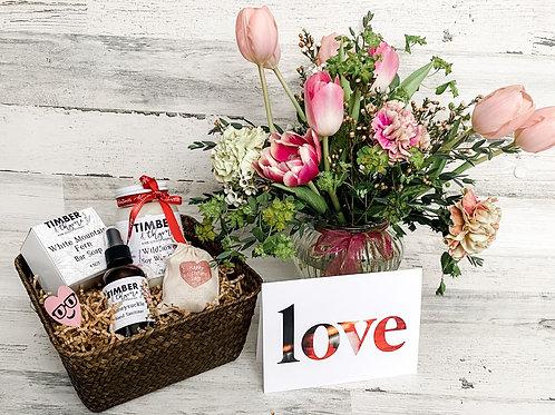 Mini Valentine's Day Basket
