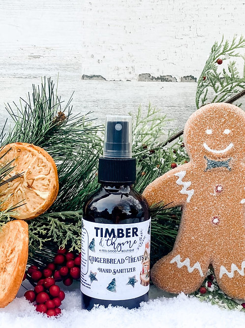 Gingerbread Treats Hand Sanitizer