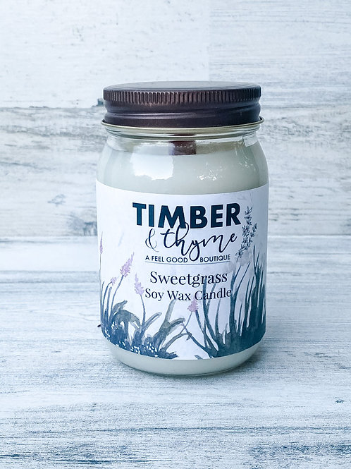 Sweetgrass - Handcrafted Candle