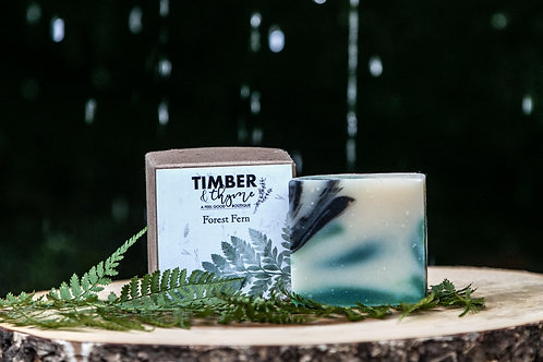 Forest Fern Bar Soap