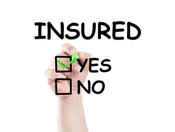 Insured-text-and-checkboxes-yes-and-no-I