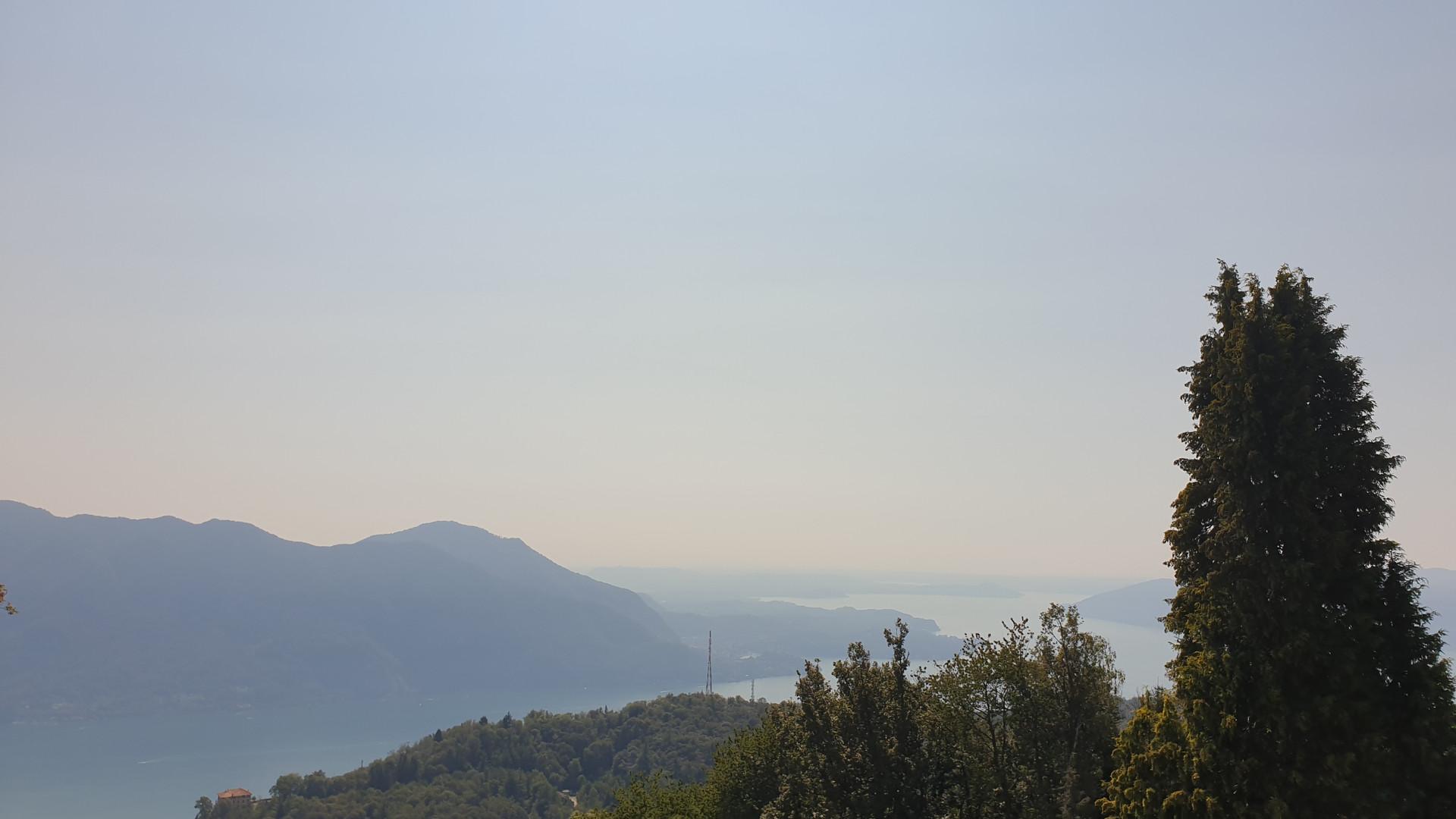 panorama da Villa Confalonieri Premeno