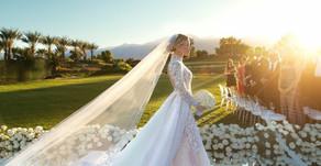 Abito da sposa per un  matrimonio in stile barocco