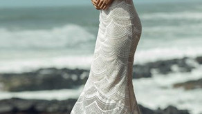 Abito da sposa per  matrimonio in spiaggia