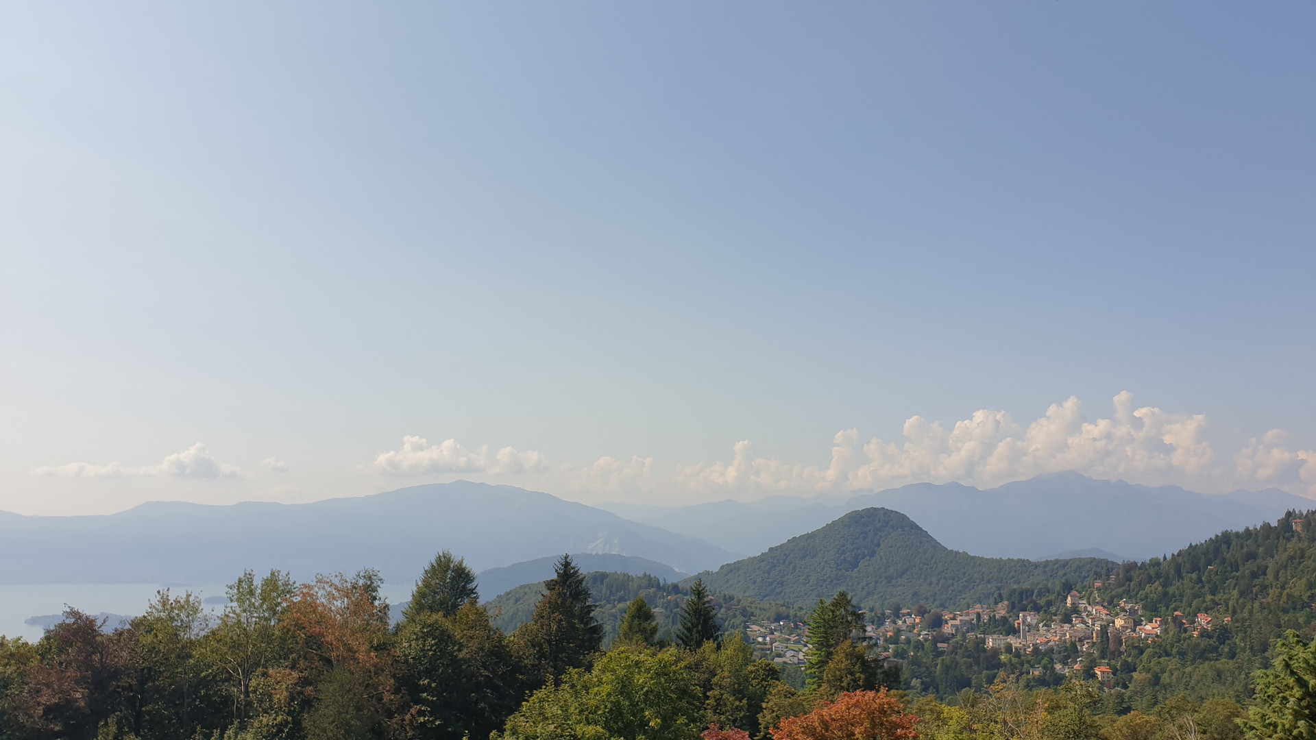 vista da Villa Confalonieri