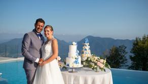 Matrimonio vista lago