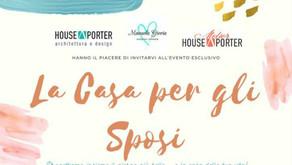 La casa per gli sposi 🏠💕 cambia abito e sbarca sul web