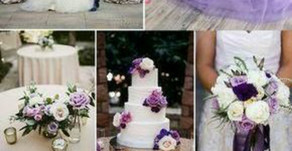 Mood lavanda per un     matrimonio da sogno