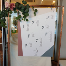 tableau mariage verticale