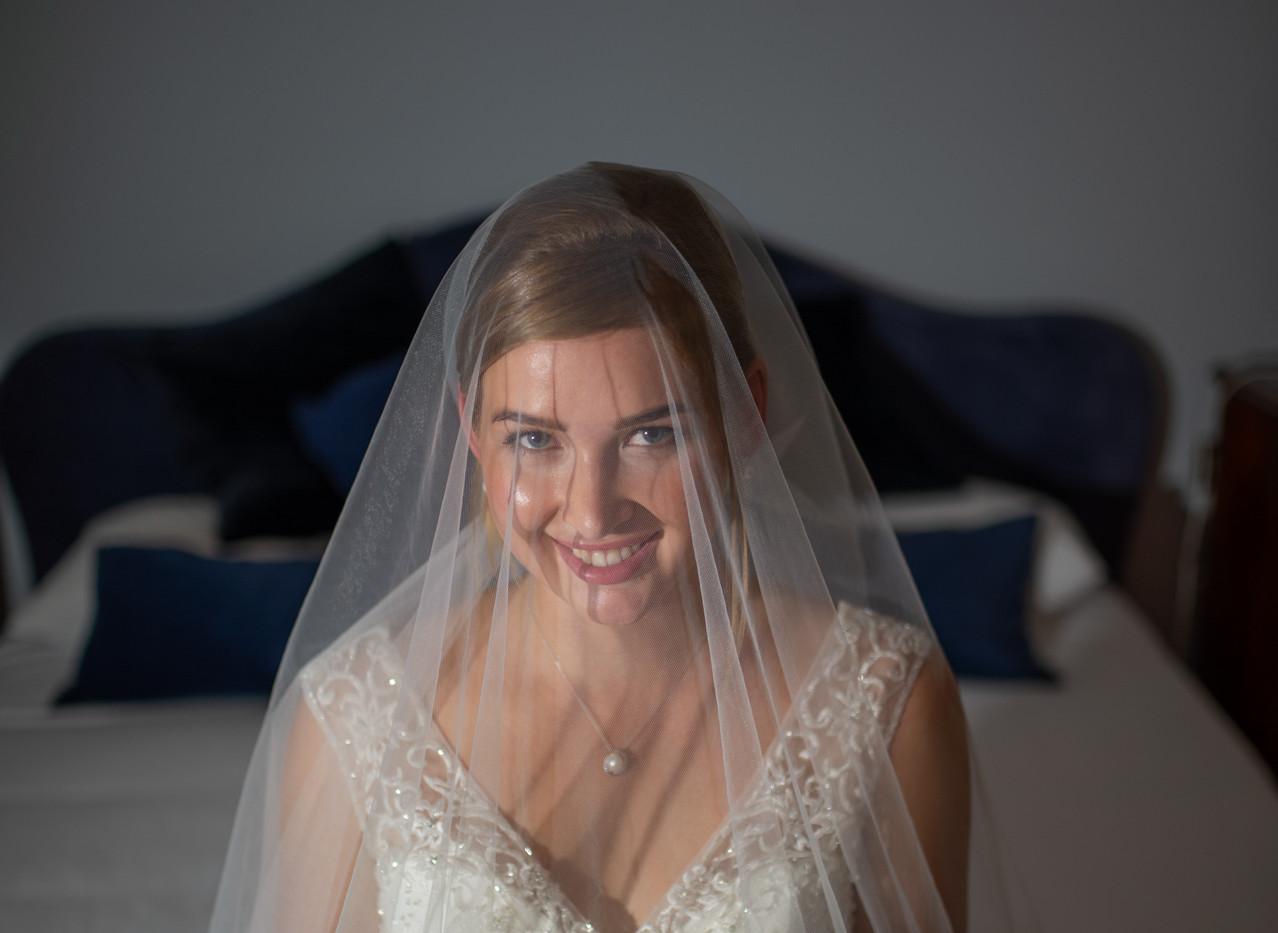 sposa pronta: velo & bouquet a completare l'opera!