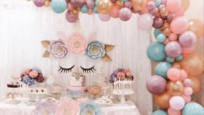 Consigli per organizzare una  festa a tema unicorno