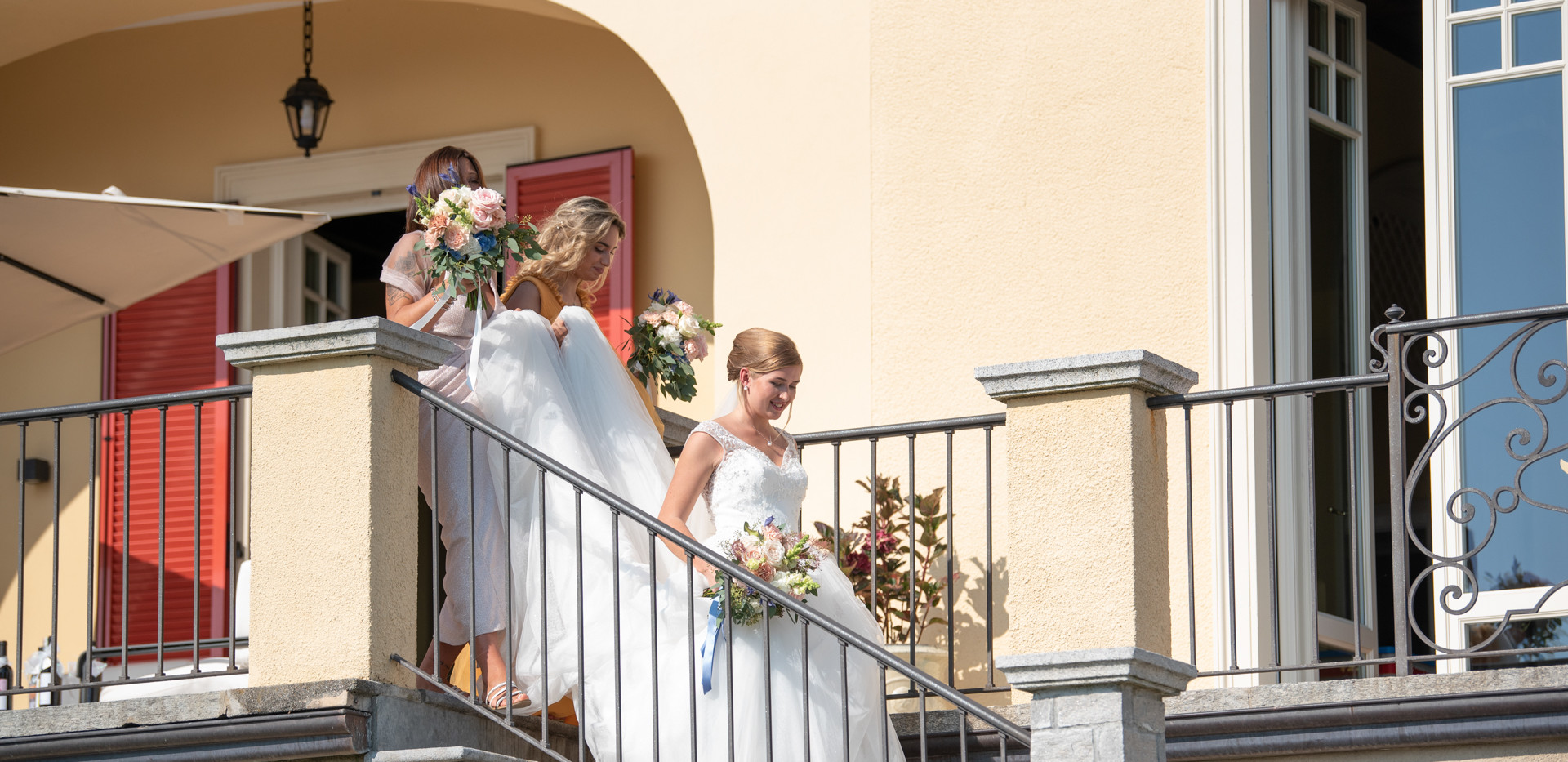 Villa Confalonieri: ingresso sposa