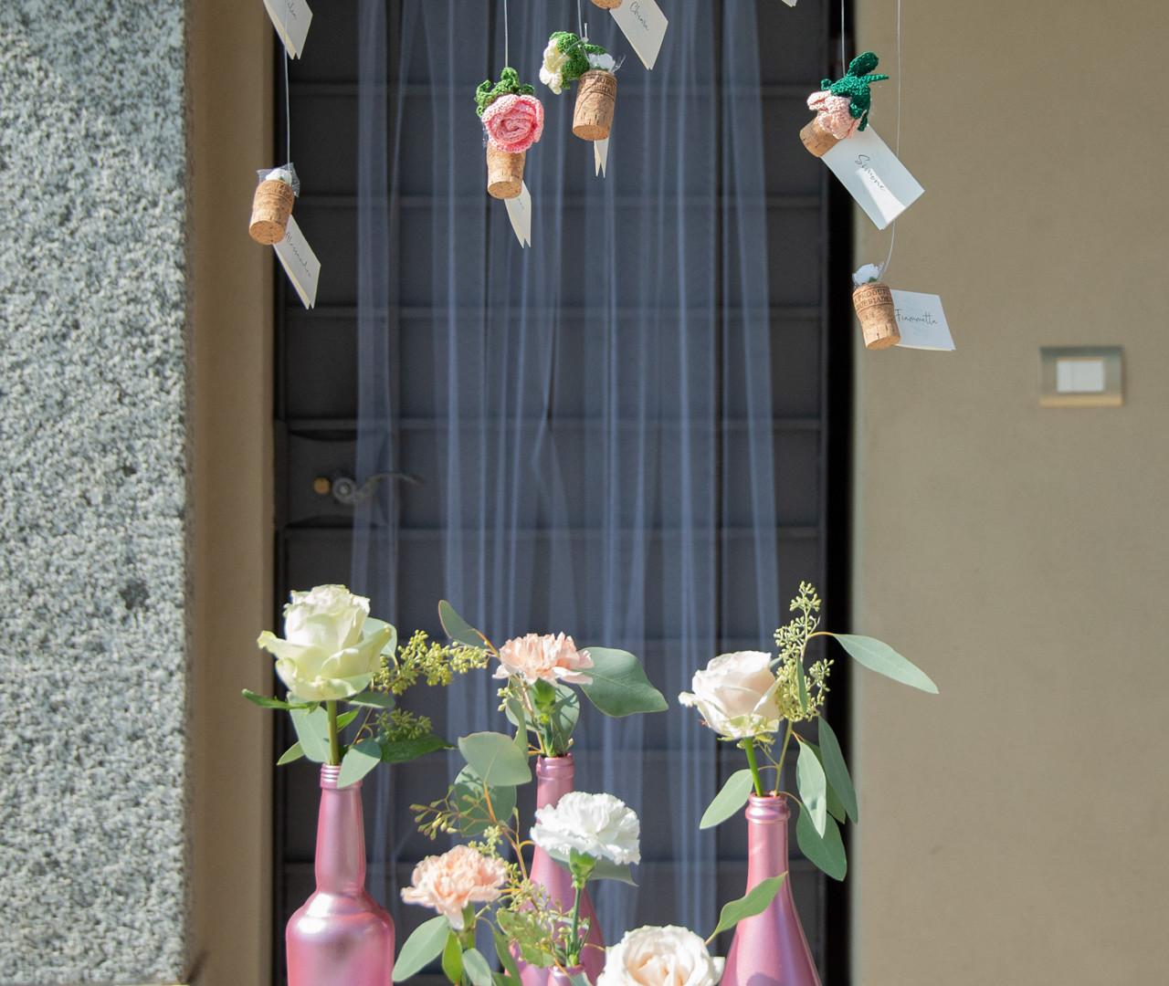 Villa Confalonieri . tableau de mariage realizzato da Manuela Gioria