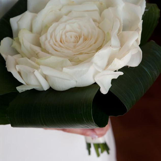 bouquet con rosa gigante