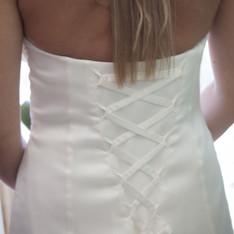dettagli abito sposa atelier Pastore