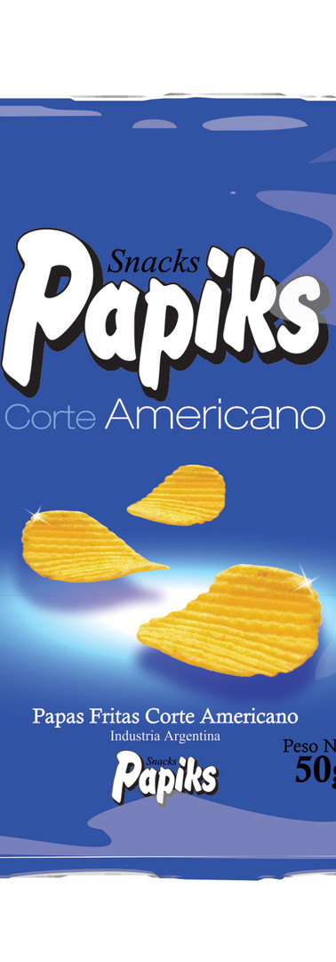 Papas Fritas corte Americano