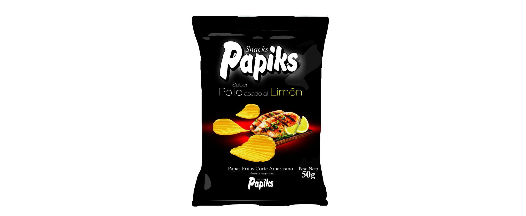 Papas Fritas Pollo al Limón