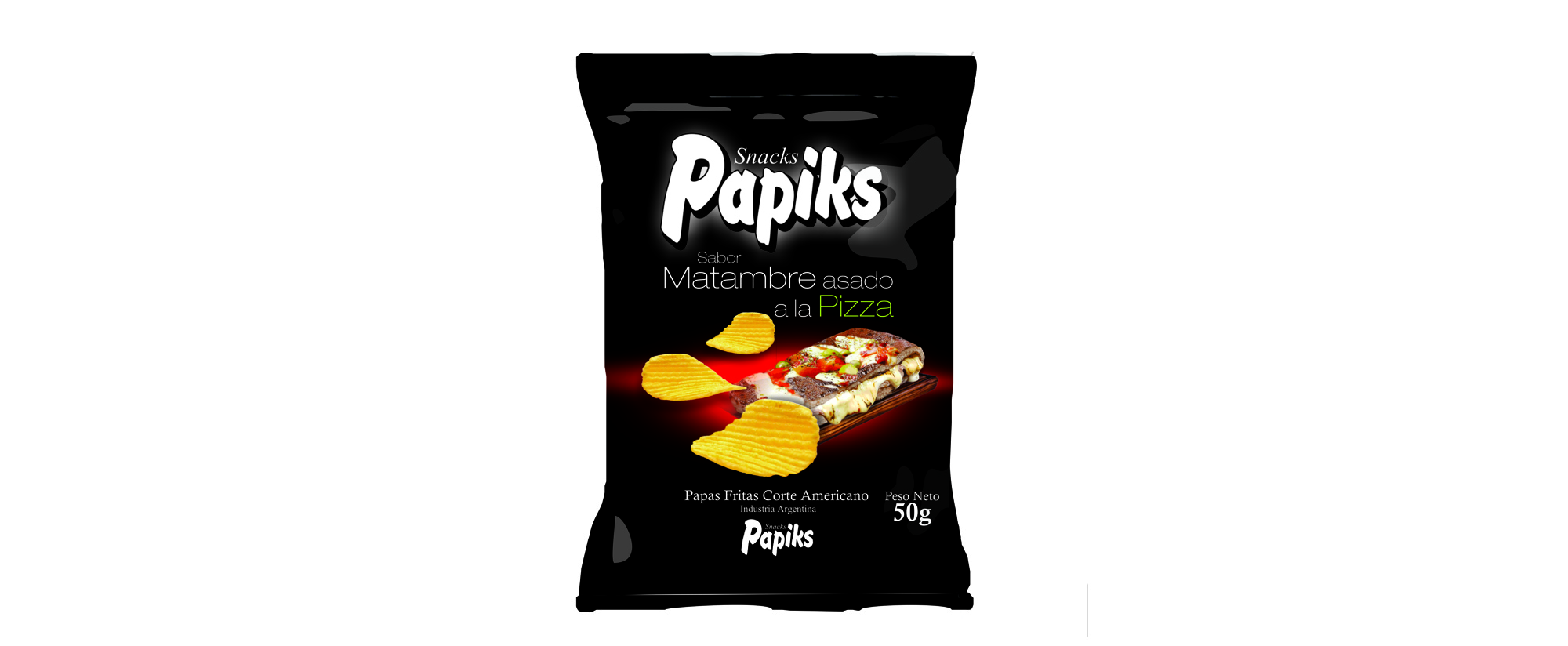 Papas Fritas Matambre a la Pizza