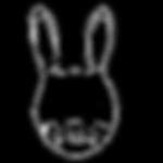 Rabbit Cartoon Line Art
