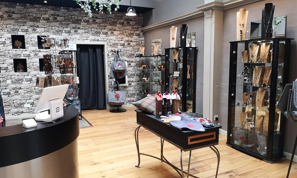Our shop in Inverness
