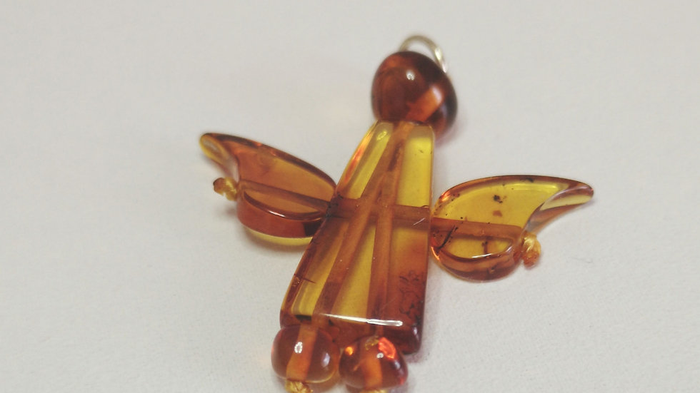 Amber Angel Pendant A150