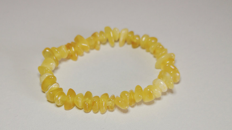Butterscotch Amber Teething Bracelet A192