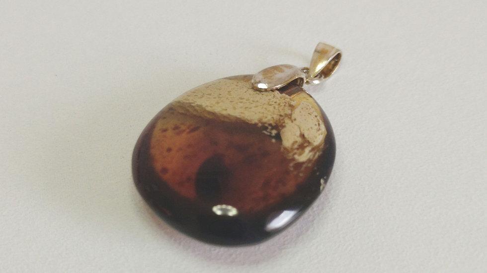 Sumatran Amber Pendant A164