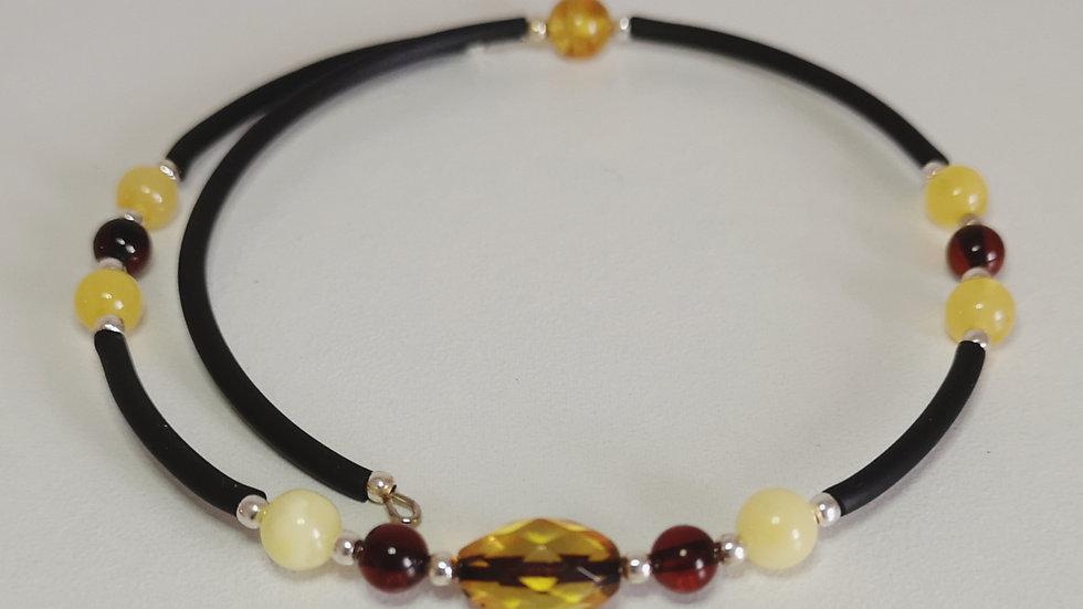 Amber wrap bangle A188
